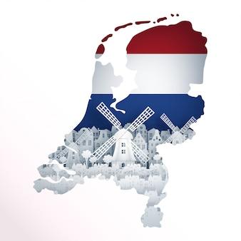 네덜란드의지도