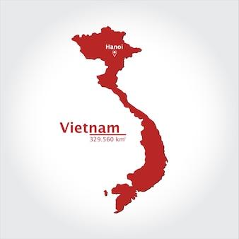 베트남의지도