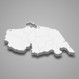 Map of pattani is a province of thailand