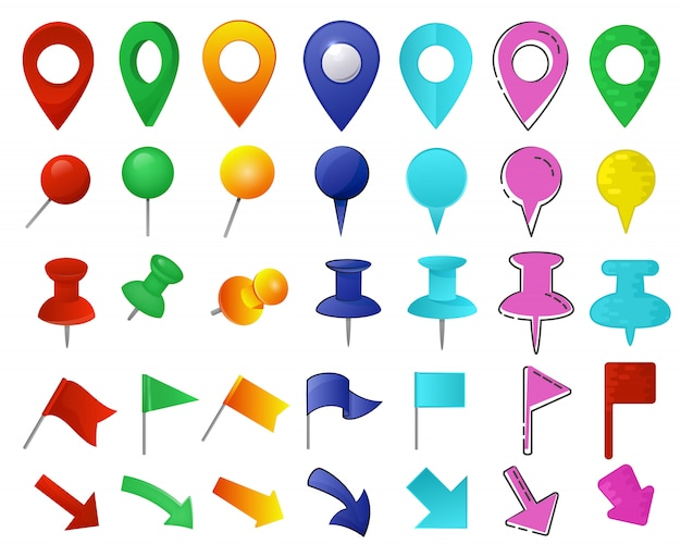 Map pointer set