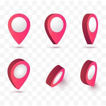 Map pointer vector illustration.