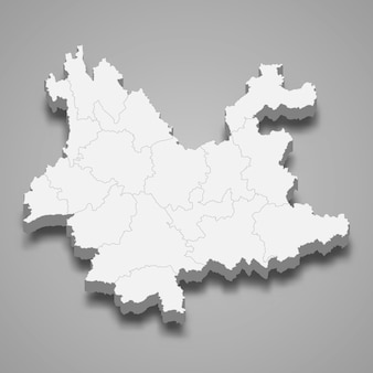Map province of china
