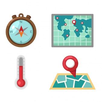 Map set vector