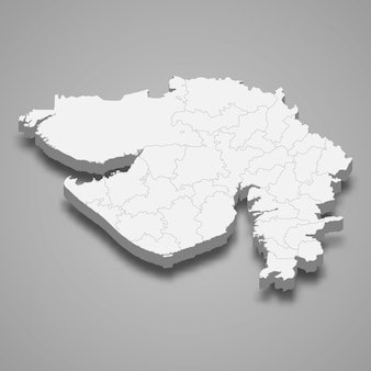 Карта штата индия