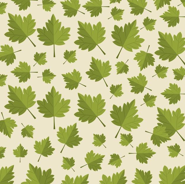 メープルリーフカナダのパターンの背景
