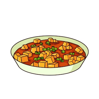 Mapo tofu is a typical food from china