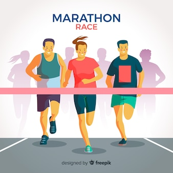 마라톤 경주