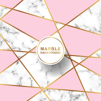 Marble background with abstract line