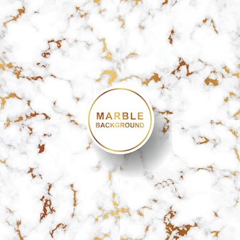 Marble pattern background with gold flakes