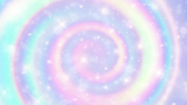 大理石の虹の渦巻き模様の背景。