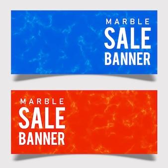 Мраморная баннерная реклама