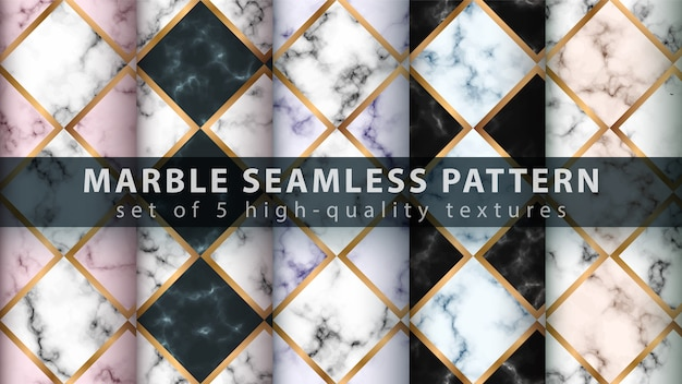 Marble seamless texture pattern