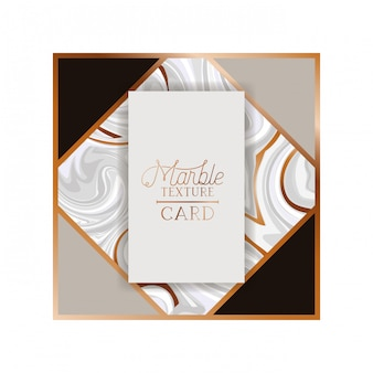 Marble texture card label isolated icon