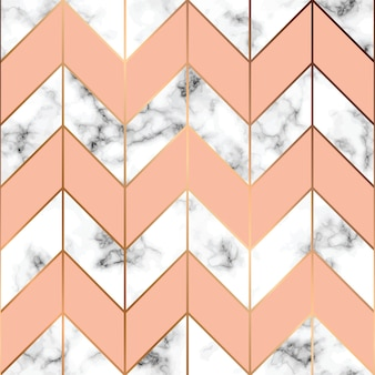 Marble texture, seamless pattern design with golden geometric lines