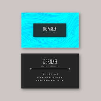 Marble textured visiting cards