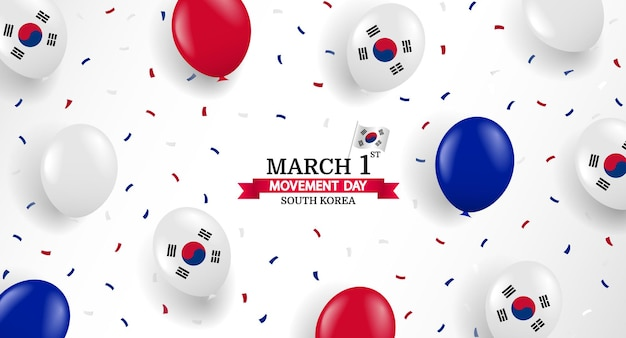 한국의 3 월 1 일 운동의 날