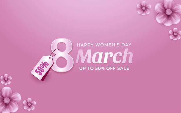 March 8 women's day special offer