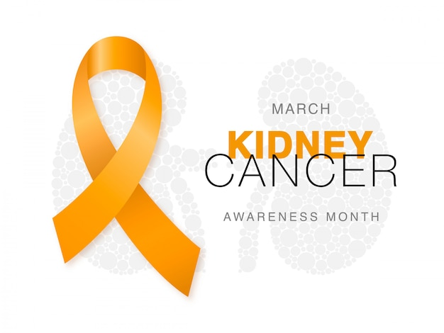 March - kidney cancer awareness month.