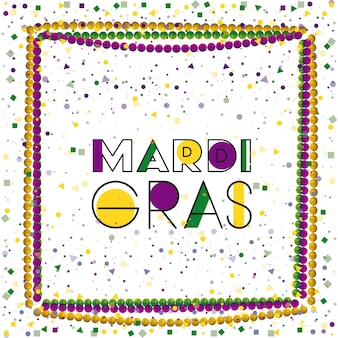 Mardi gras colorful background