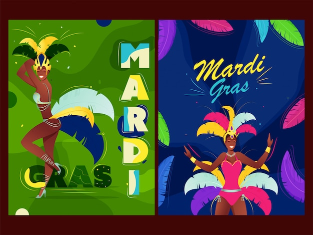 Mardi grass poster