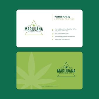 Marijuana business card