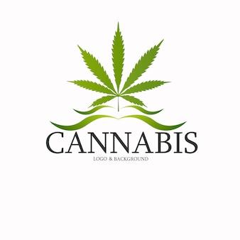 マリファナ、大麻のロゴ