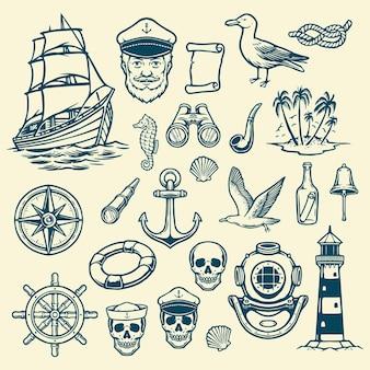 Морской морской элемент