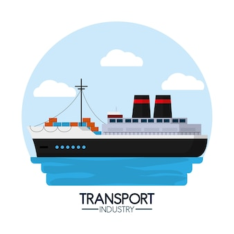 Maritime transport and logistics industry