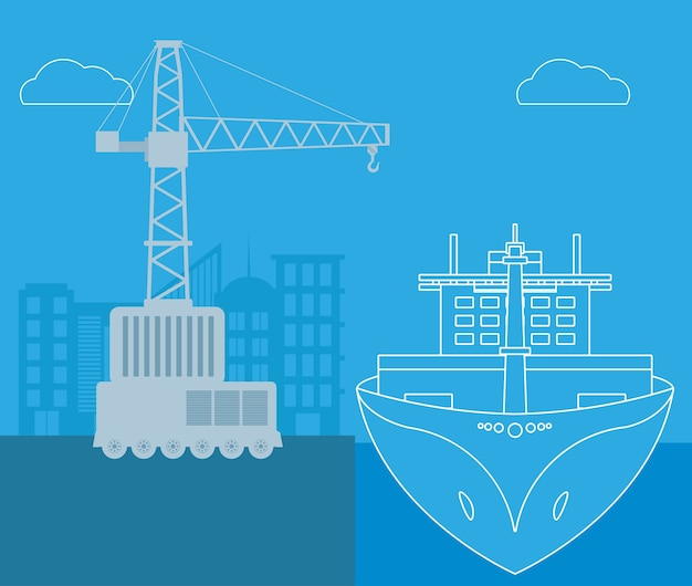 Морской транспорт