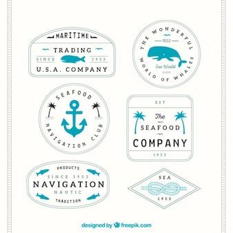 Maritine badges