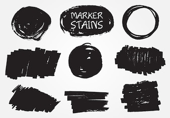 Marker stains collection