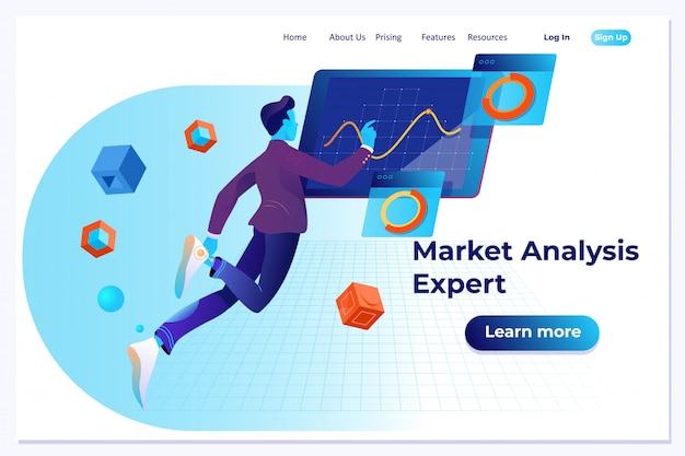 시장 분석 전문가