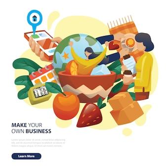 Market business app