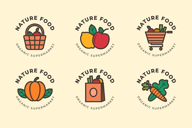 Market logo collection