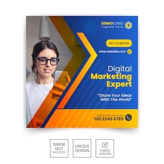 Маркетинговое агентство-instagram-post-template