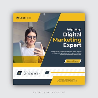 Marketing agency instagram post templates