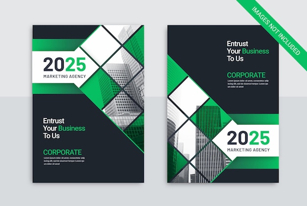 Marketing agency template business cover
