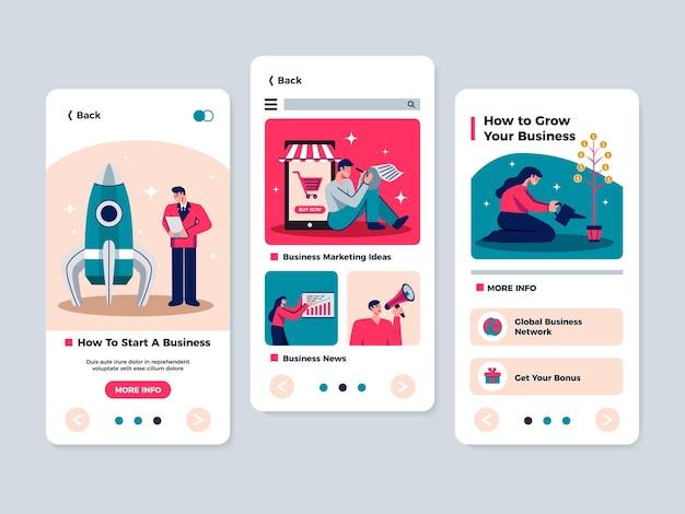 スマートフォンバナーのマーケティングアプリ