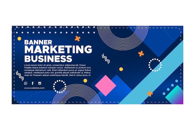 마케팅 비즈니스 배너 서식 파일