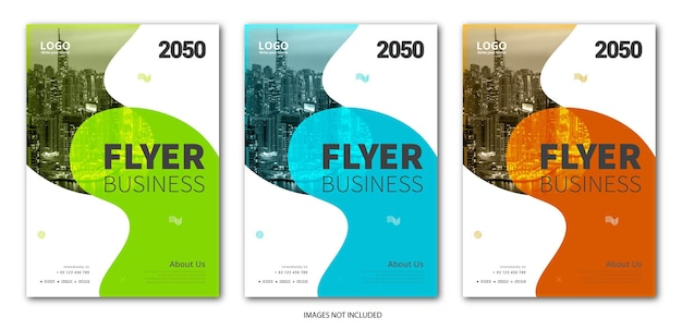 Marketing and business flyer template