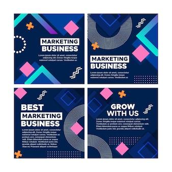 マーケティングビジネスのinstagramの投稿コレクション