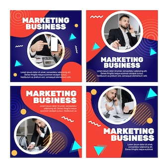 Marketing business instagram posts