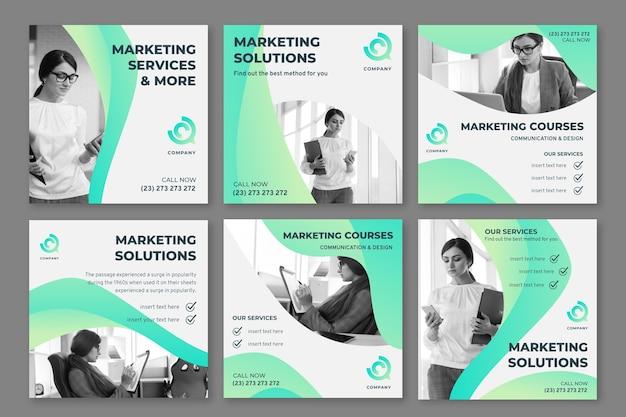Маркетинговые бизнес-посты в instagram