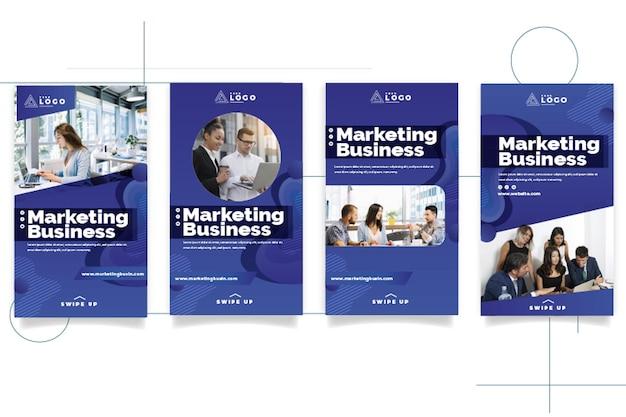마케팅 비즈니스 인스 타 그램 스토리 컬렉션