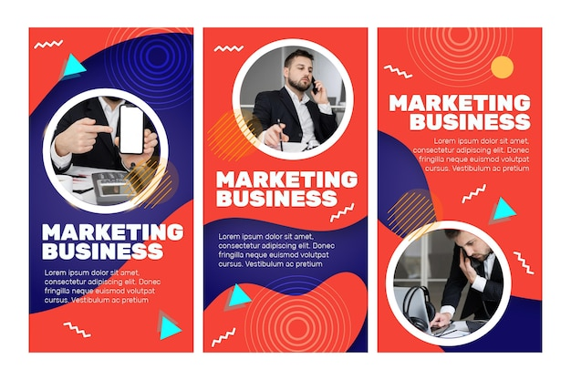 Marketing business instagram stories
