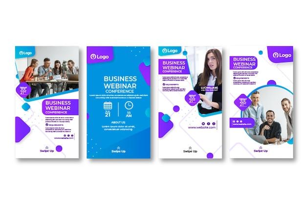 Marketing business instagram stories