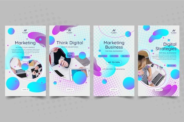 Маркетинговые бизнес-истории instagram