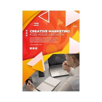 마케팅 비즈니스 포스터 템플릿