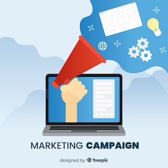 Marketing campaign background