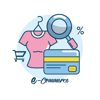 Marketing digital to shopping online network
